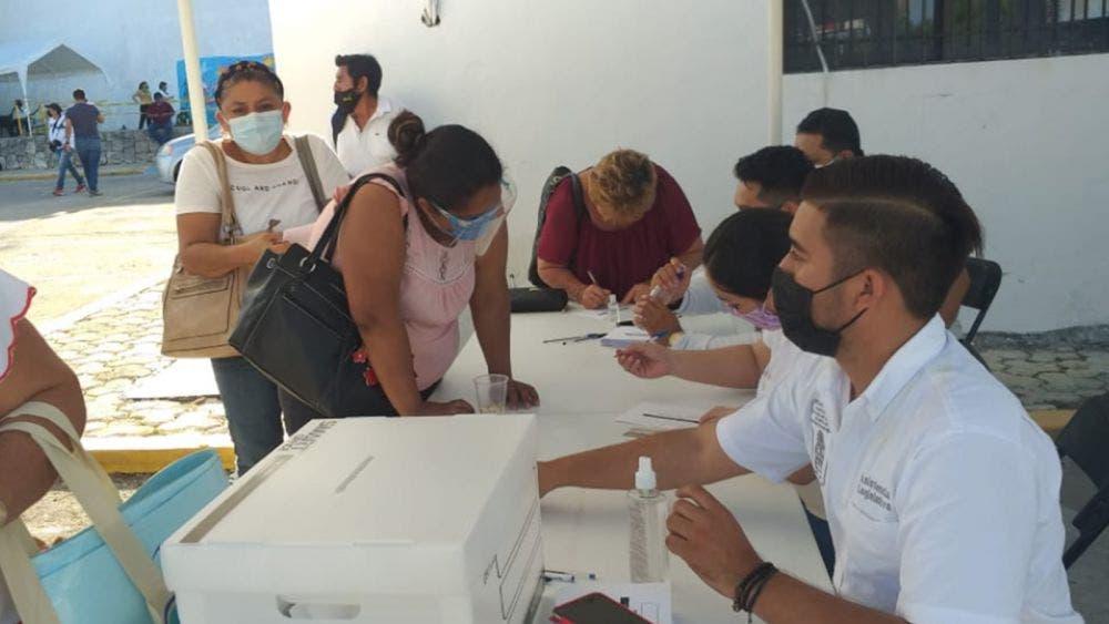 Instala diputada modulo para votación de despenalización del aborto