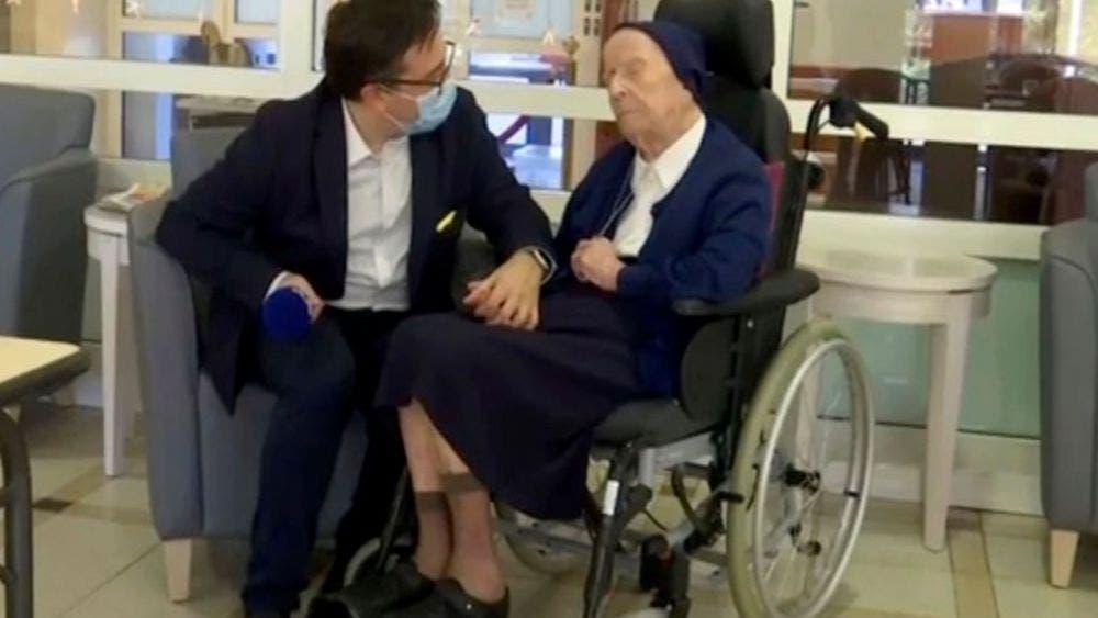 ¡Increíble! Monja de 116 años sobrevivió al Covid-19