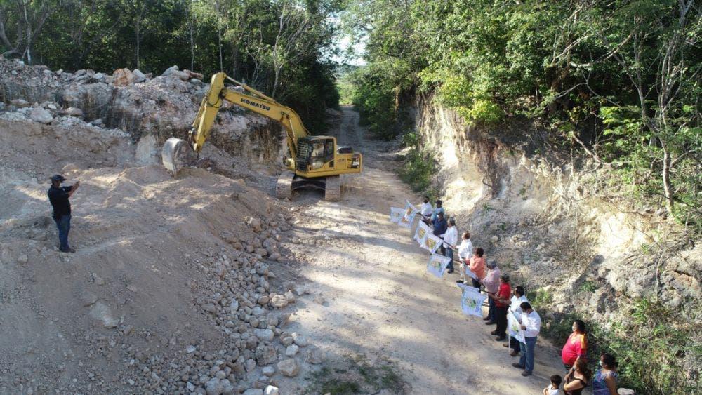 Realizan autoridades supervisión de obras en Jose Maria Morelos