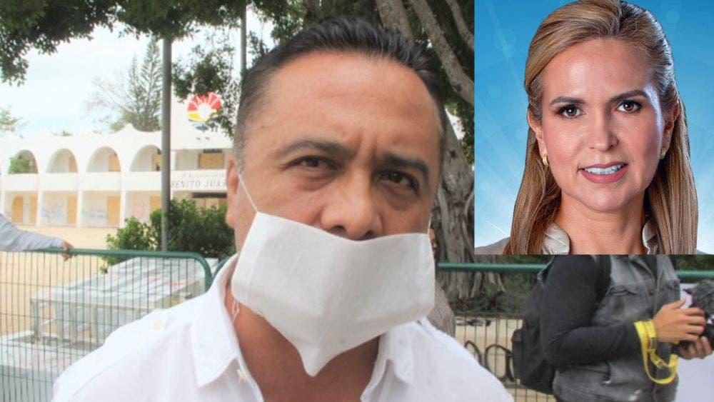 Acusa Lilí Campos a Jorge Parra de desestabilizador político
