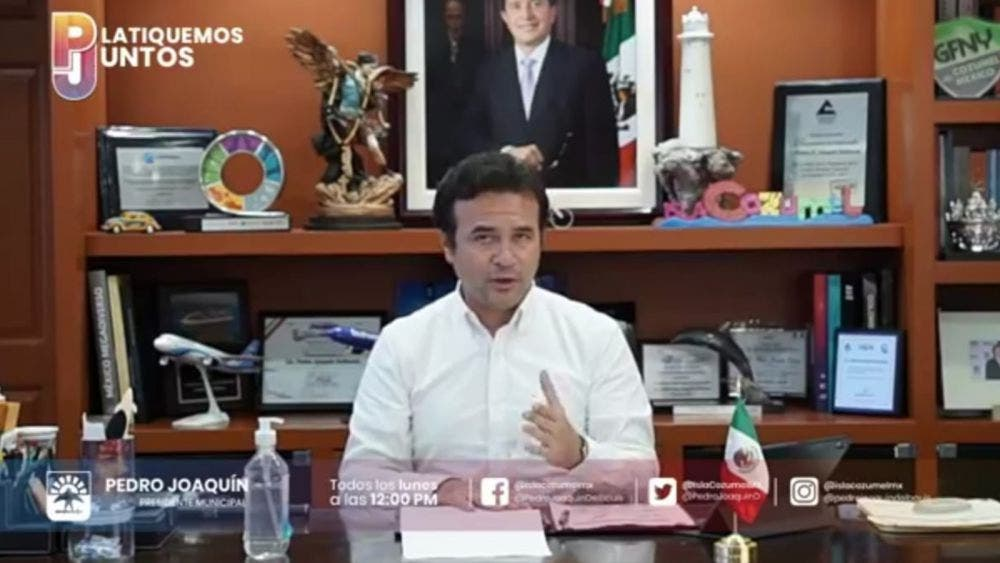 Desafía alcalde Cozumel Semáforo Epidemiológico Estatal