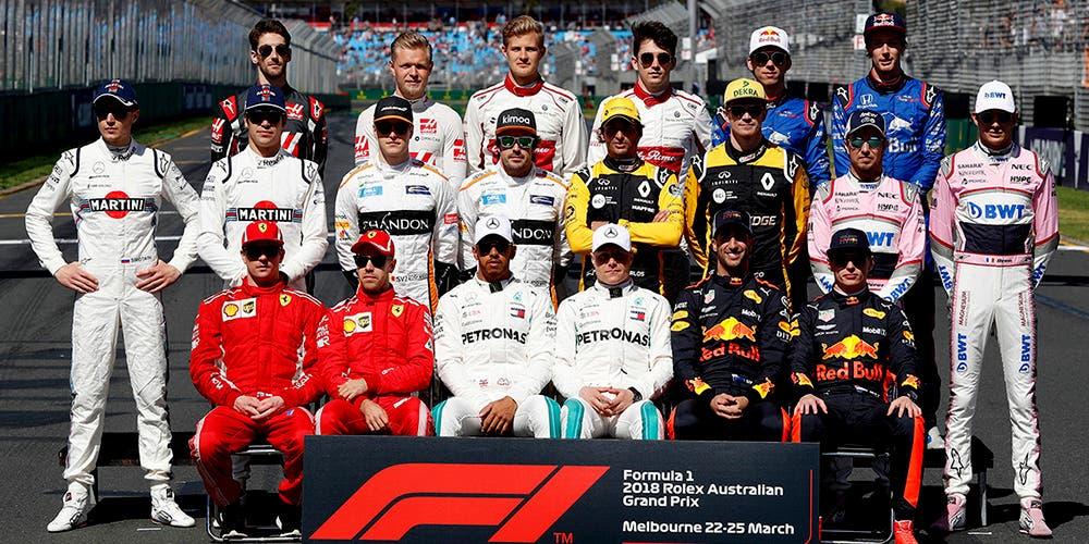 Pilotos mejor pagados en F1