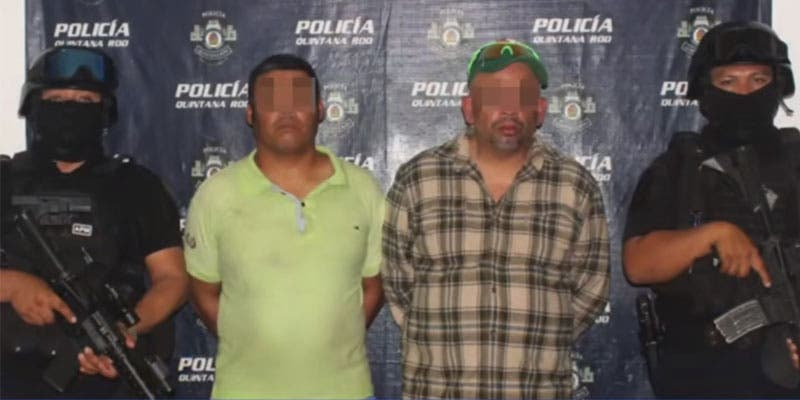 Caen presuntos asesinos de dos guardias de seguridad de hotel.