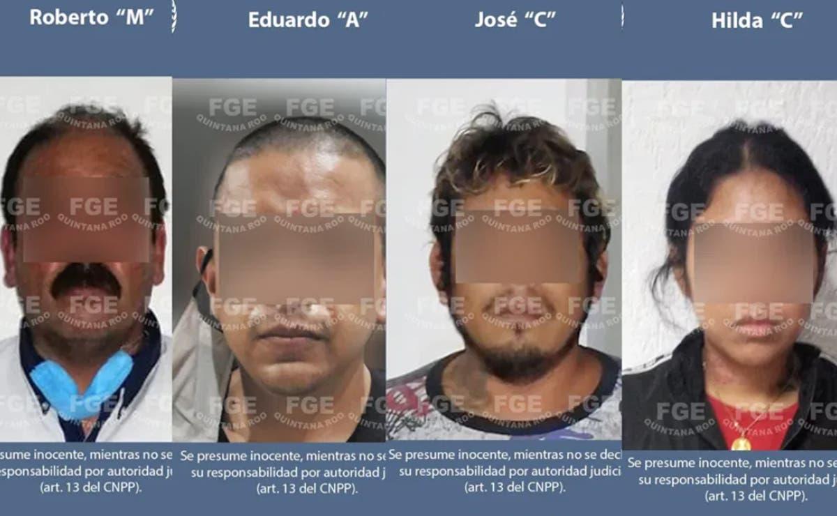 Cae banda de presuntos secuestradores y asesinos en Cancún