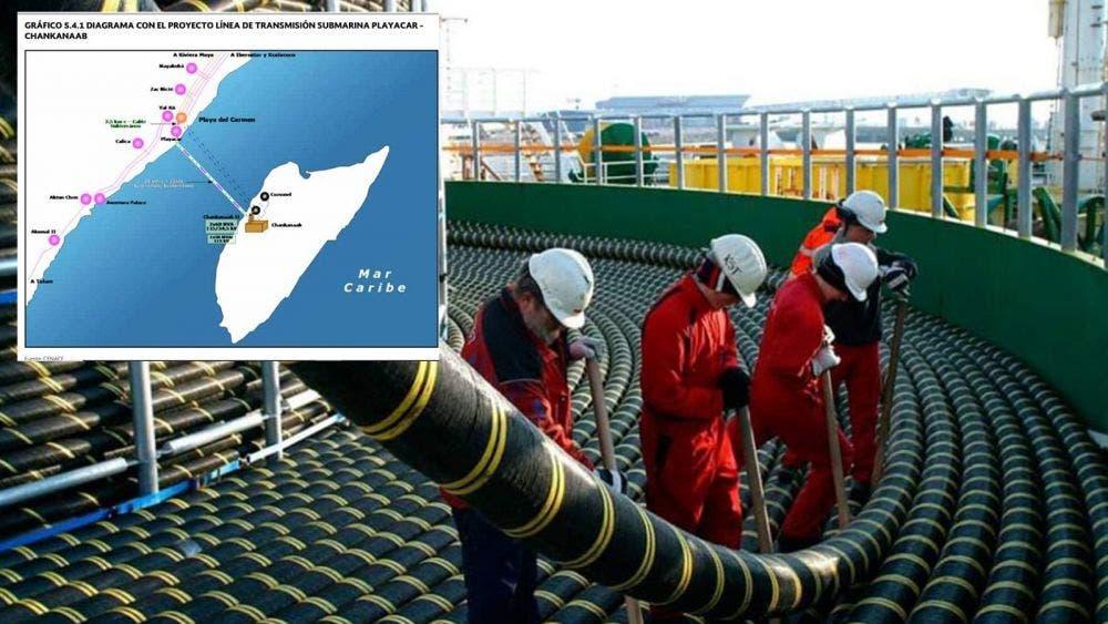 Modernizarán línea submarina de CFE en Cozumel