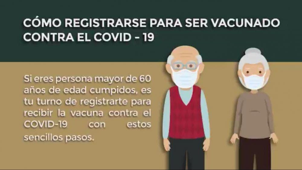 Colapsa registro para vacunas anti Covid-19 de adultos mayores