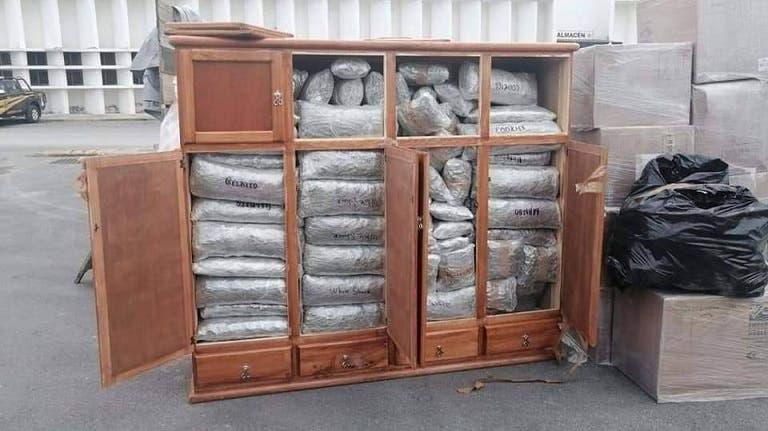 Detienen a elementos de la Guardia Nacional con cargamento de droga en la vía Mérida-Campeche