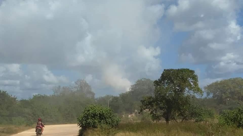 Empresa causa estragos en la salud por exceso de polvo en el ambiente.