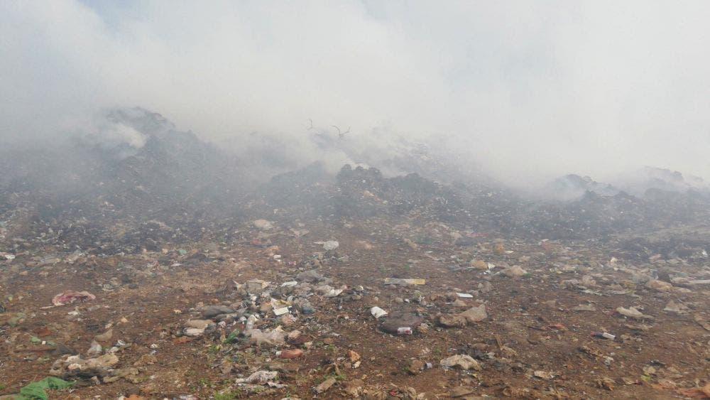 Nuevamente se quema basurero municipal de la Zona Maya.