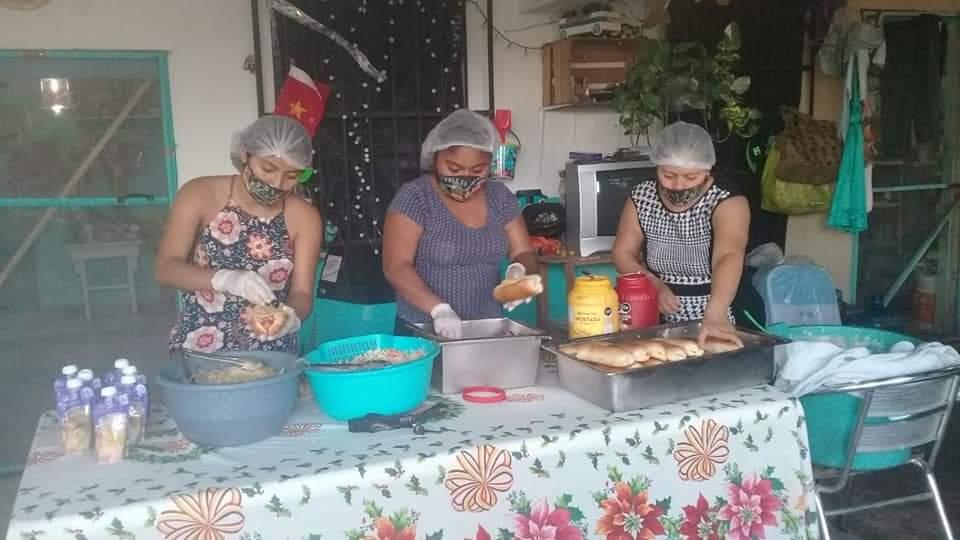 Desmiente Red de Cocinas Comunitarias de Cozumel al edil Pedro Joaquín.