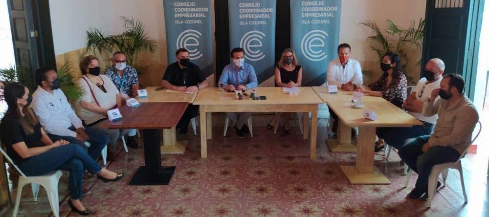 Piden empresarios de Cozumel a AMLO Decreto de Ley de Islas.