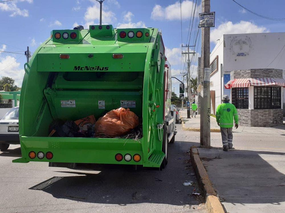 En Cancún bajan las quejas por recolección de basura.