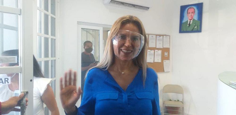 Confía Lili Campos en ser la candidata del PAN en Solidaridad.