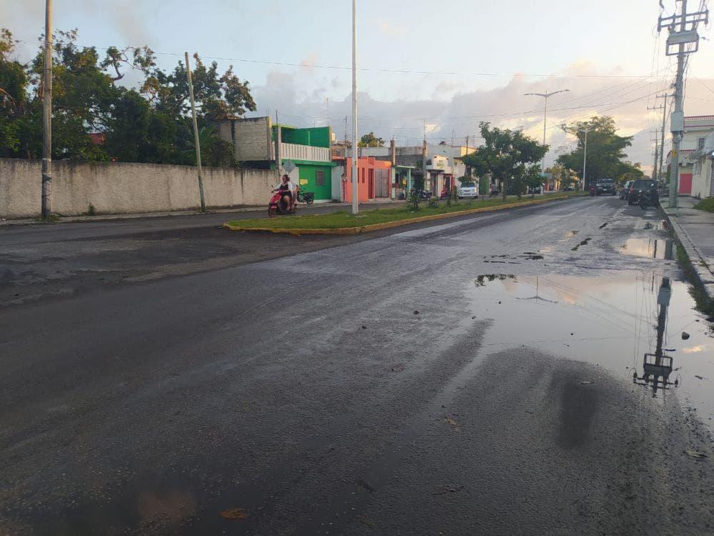 Dinero tirado a la basura repavimentación de la avenida Pedro Joaquín Coldwell.