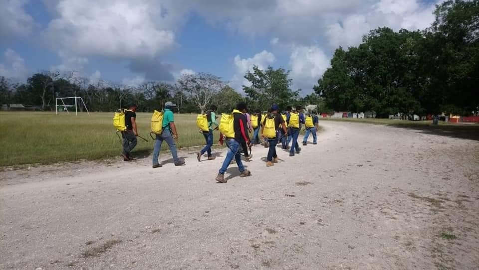 En Kantunilkín evalúan a aspirantes a integrarse a Brigadas Comunitarias.