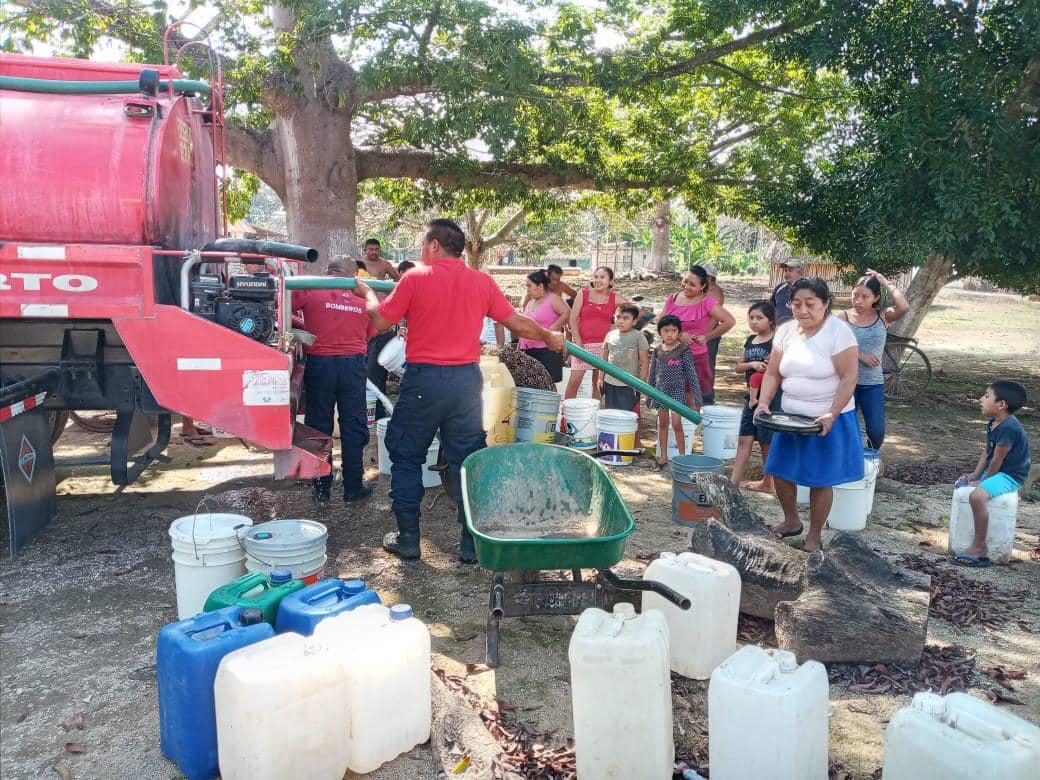 Sufren desabasto de agua comunidades mayas de Felipe Carrillo Puerto.