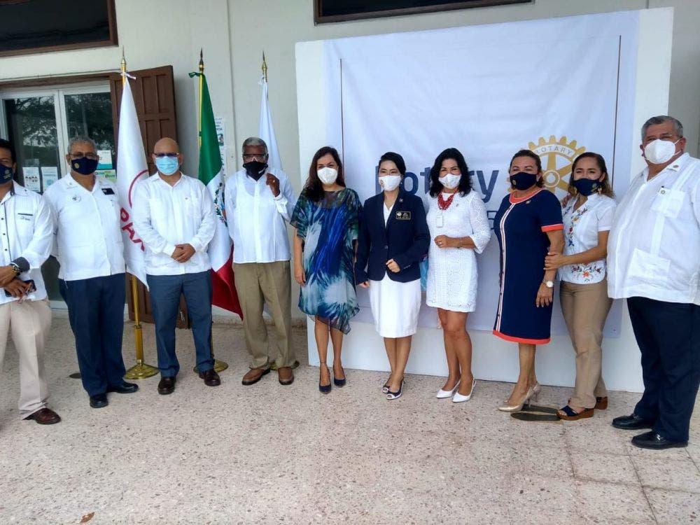 Honra el Congreso la labor de los rotarios de Quintana Roo.