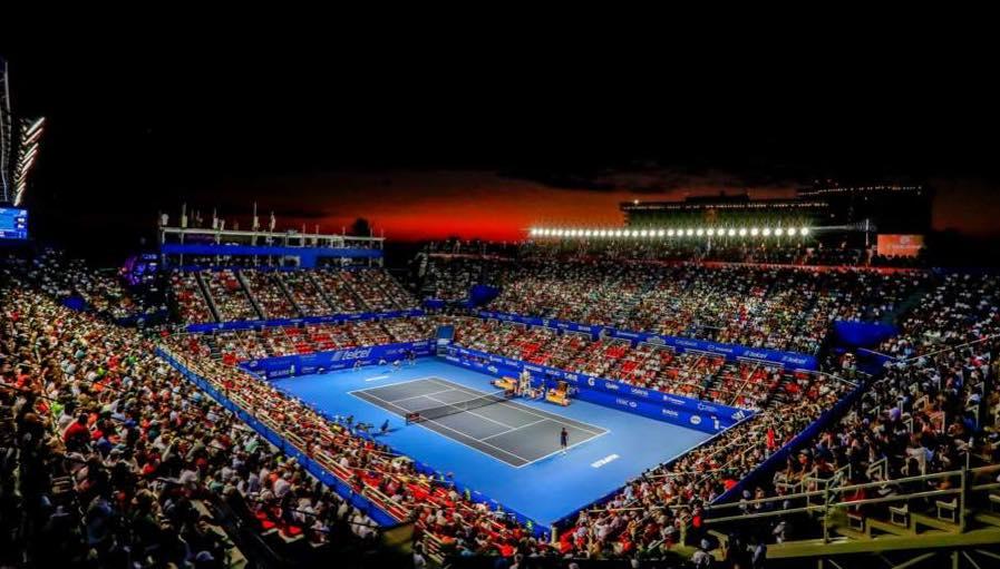 Cartel del Abierto Mexicano de Tenis y protocolos sanitarios