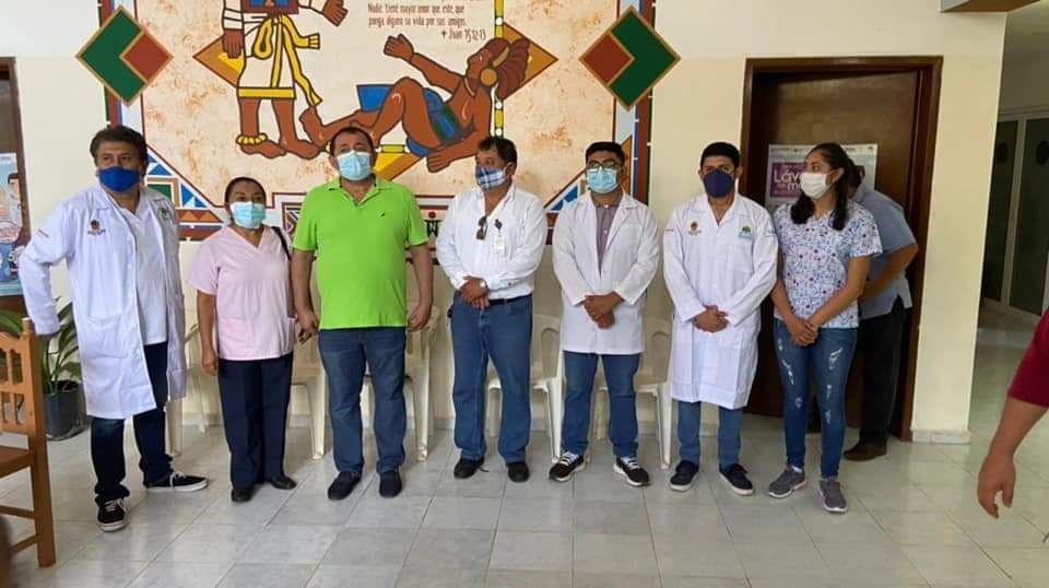 Refuerzan la atención médica en la comunidad de San Cosme.