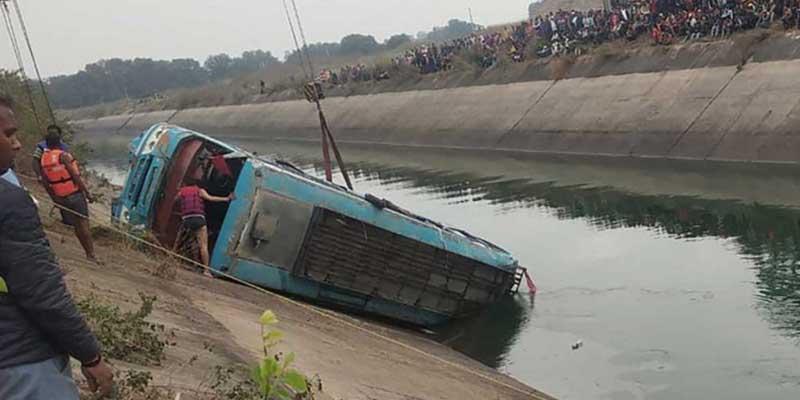 Mueren 39 personas tras accidente de autobús