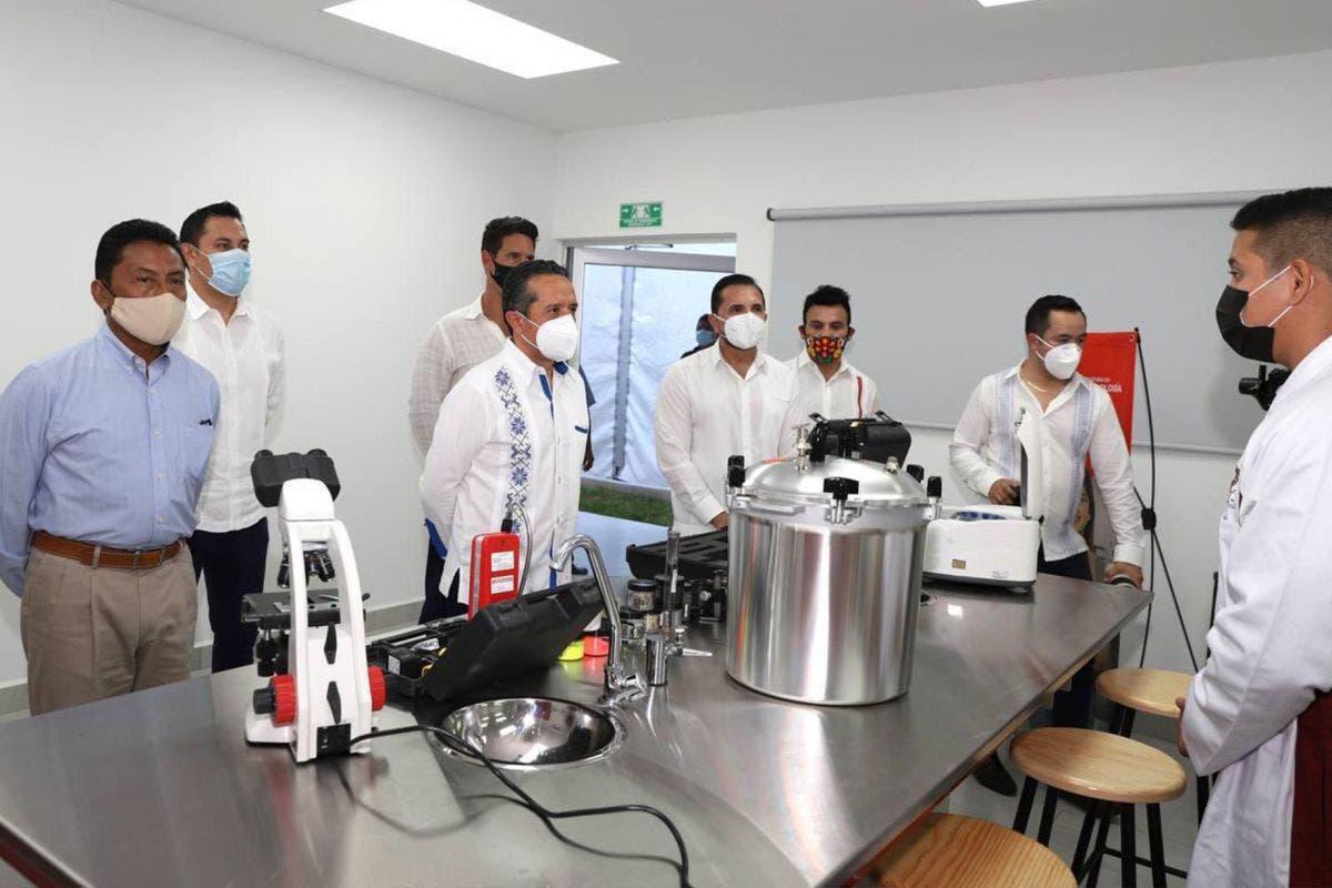 Con nuevo plantel educativo fortalecemos la educación en Quintana Roo: Carlos Joaquín