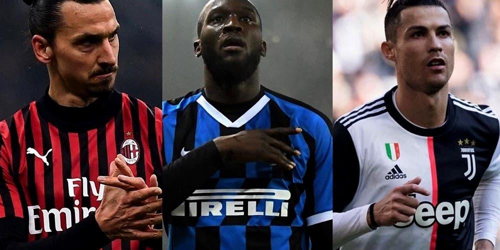 Tabla de goleo Serie A: Lukaku supera a Zlatan y empata a CR7