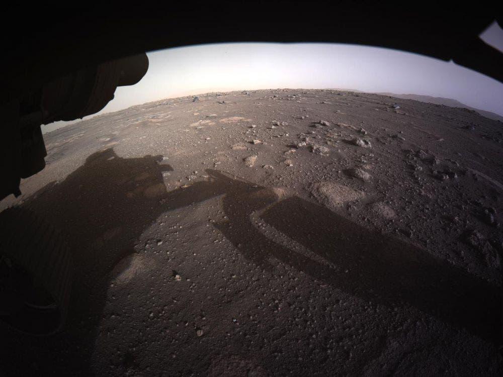 Perseverance envía las primeras imágenes del planeta Marte