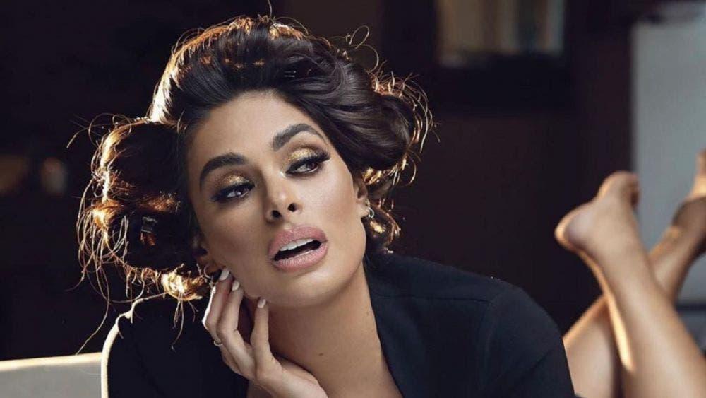 En sexy vestido, Galilea Montijo imita a Shakira... y hace el ridículo