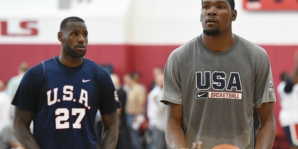 NBA: Kevin Durant supera a LeBron en votación para el Juego de Estrellas