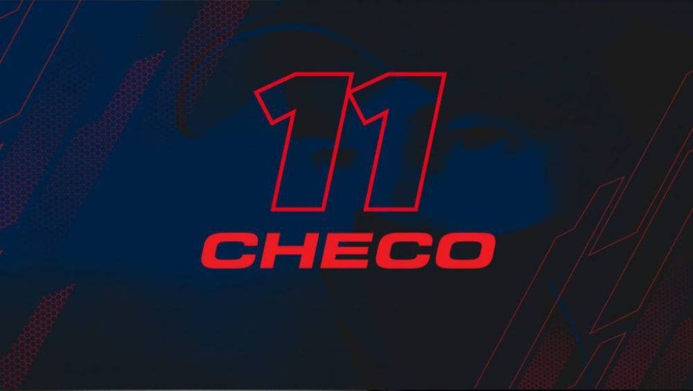 F1: Así luce el nuevo casco de Sergio Pérez con Red Bull