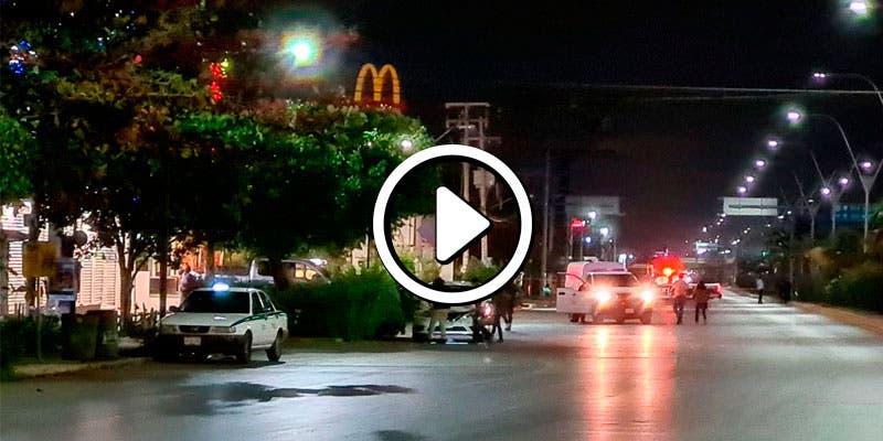 Video: Balean a dos taxistas en Cancún; uno murió.