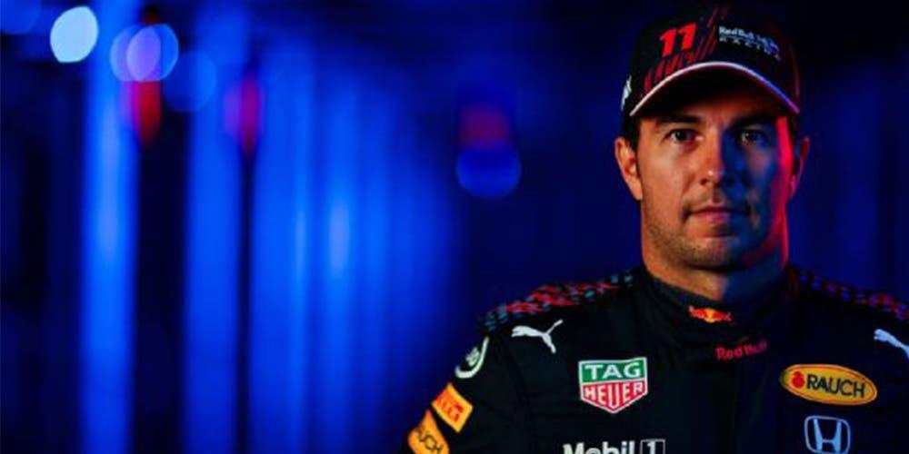 F1: Checo Pérez se luce con nuevo monoplaza de Red Bull