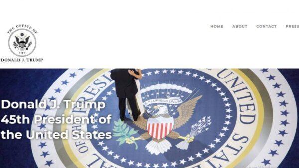 Lanza Donald Trump su sitio oficial '45office.com'; el expresidente promete preservar el magnífico legado de su administración y avanzar en la agenda Estados Unidos primero.