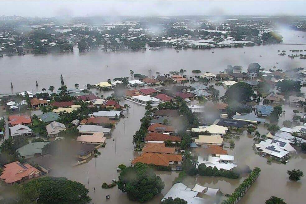 Lluvias e inundaciones golpean la costa este de Australia.