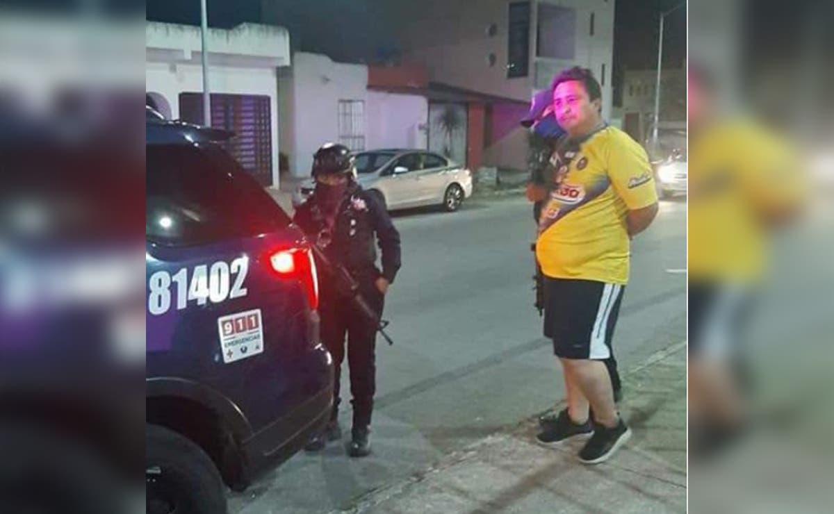 Difunden presunto abuso policiaco en Playa Del Carmen