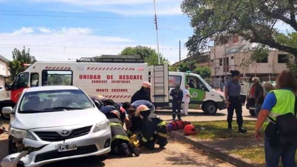 Por accidente atropella a su hijo y muere en Argentina