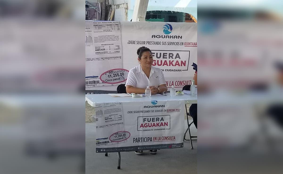 Pide regidora con licencia votar en consulta sobre Aguakan