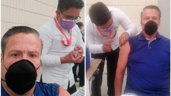 Alfredo Adame ya tiene la vacuna contra el Covid-19