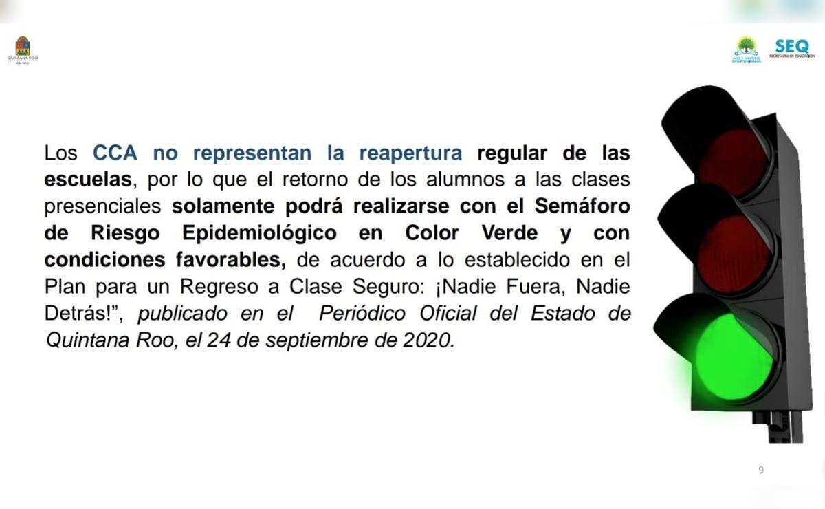 Autorizan dar asesorías a 103 escuelas de Quintana Roo