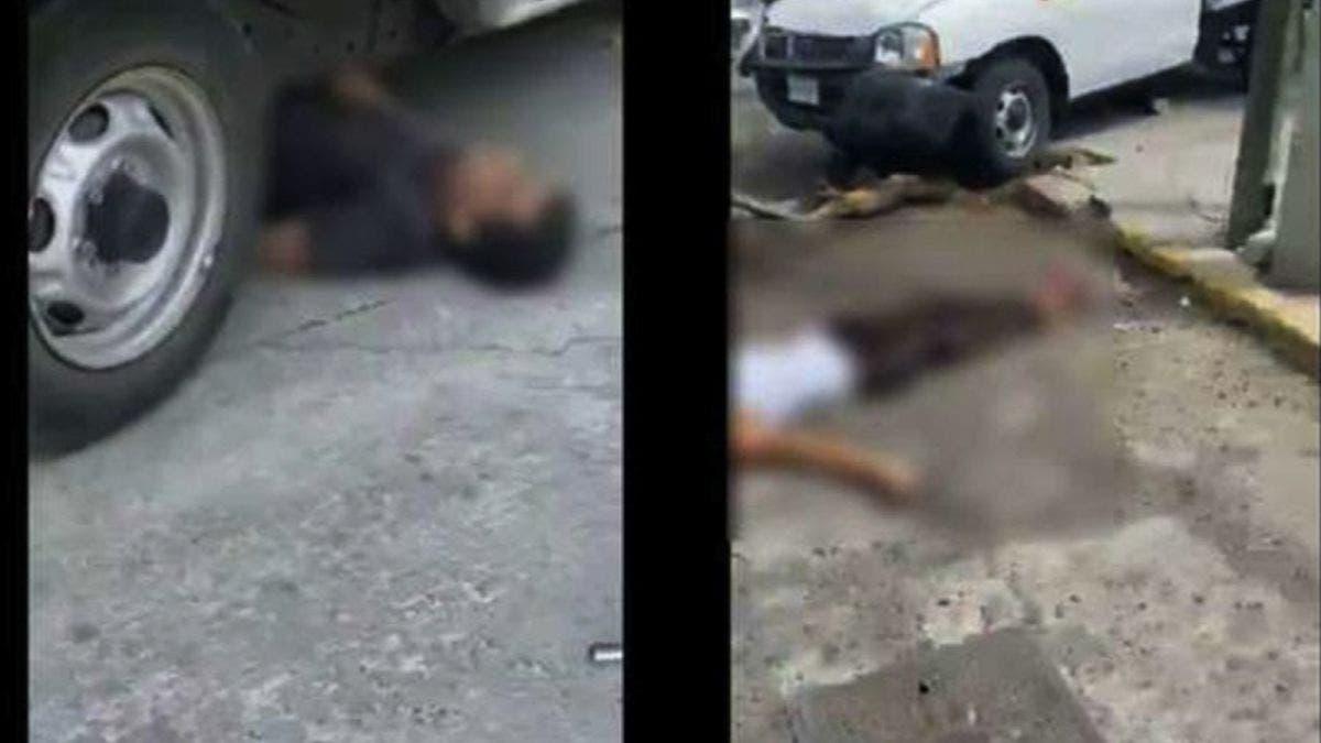 (VIDEO) Sigue y atropella a los delincuentes que lo asaltaron