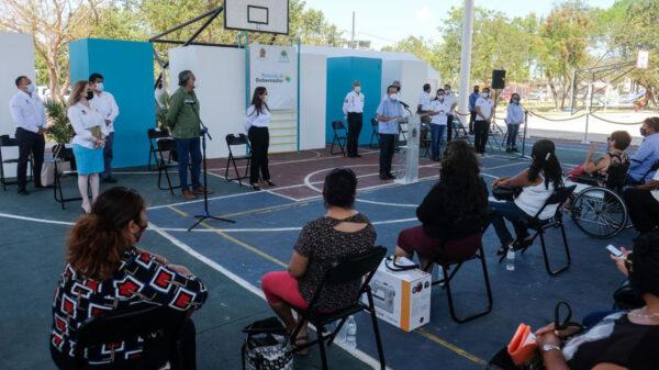 Participa gobierno municipal de Cancún en audiencias públicas