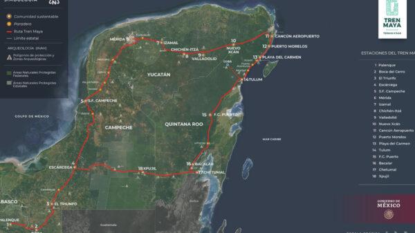Fonatur intensifica trabajos en los cuatro tramos del Tren Maya en Quintana Roo