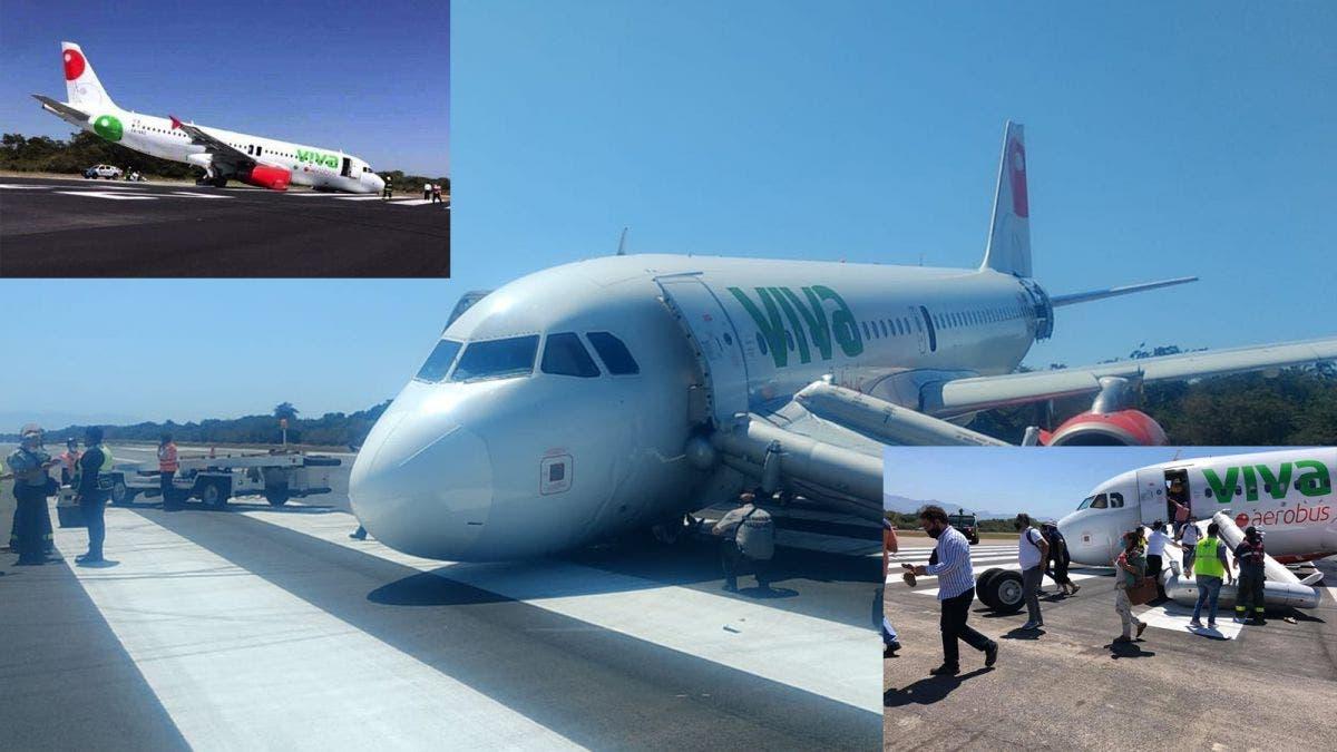 Sufre accidente avión en aeropuerto de Puerto Vallarta