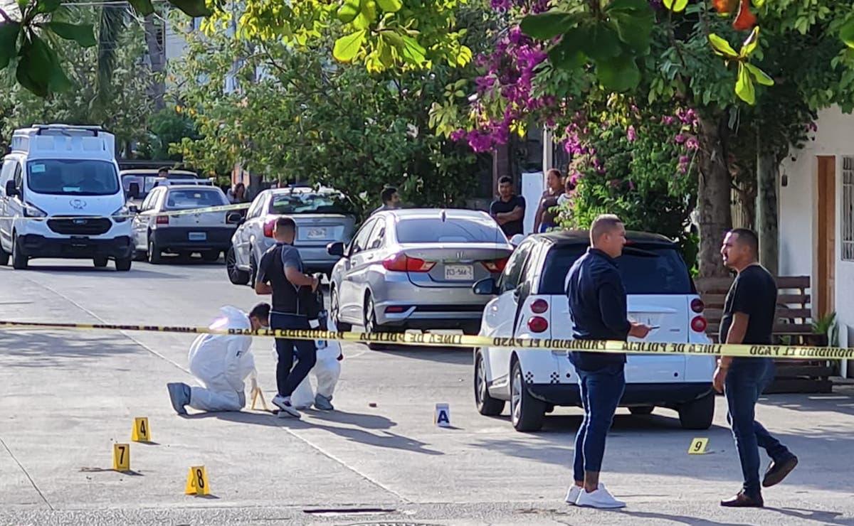 Ataque a balazos en Cancún deja a tres personas heridas, hay detenciones