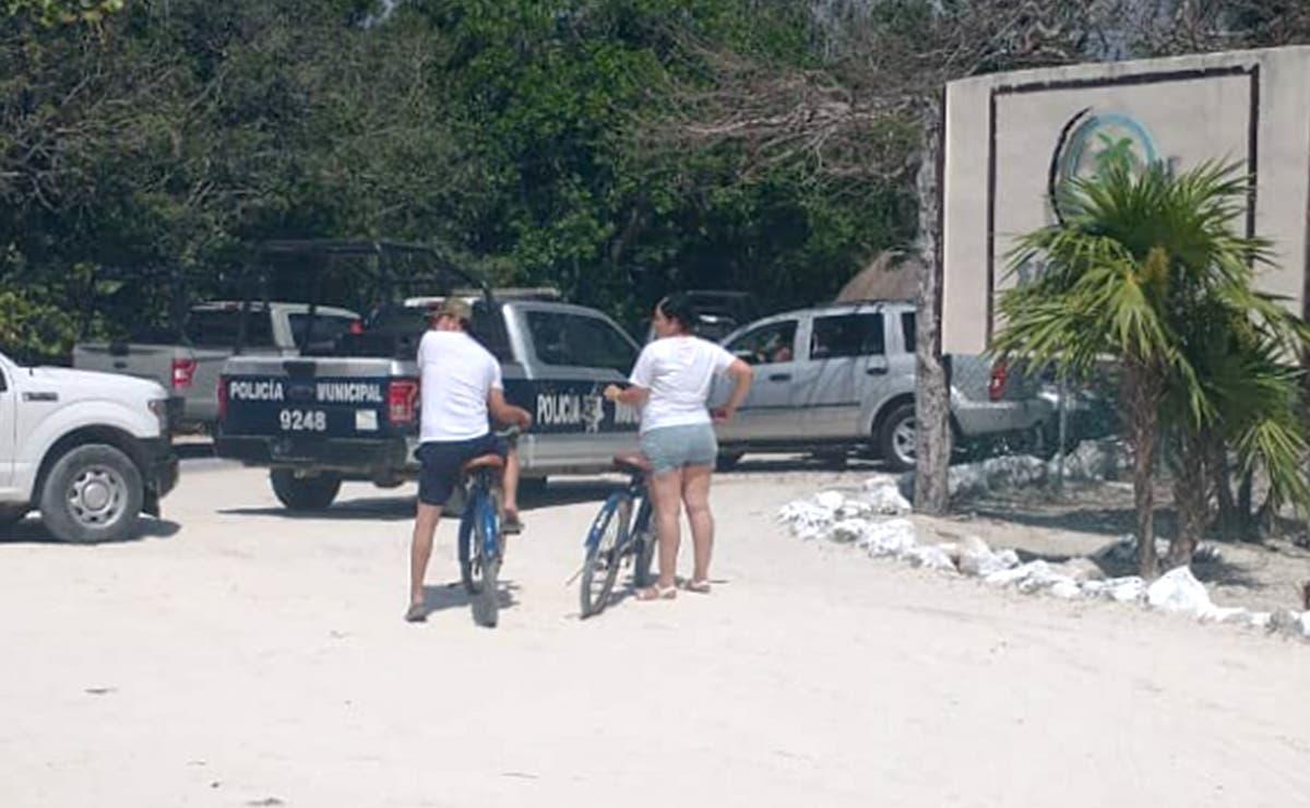 Día de sol, playa..y balazos en arenales de Tulum, dos lesionados
