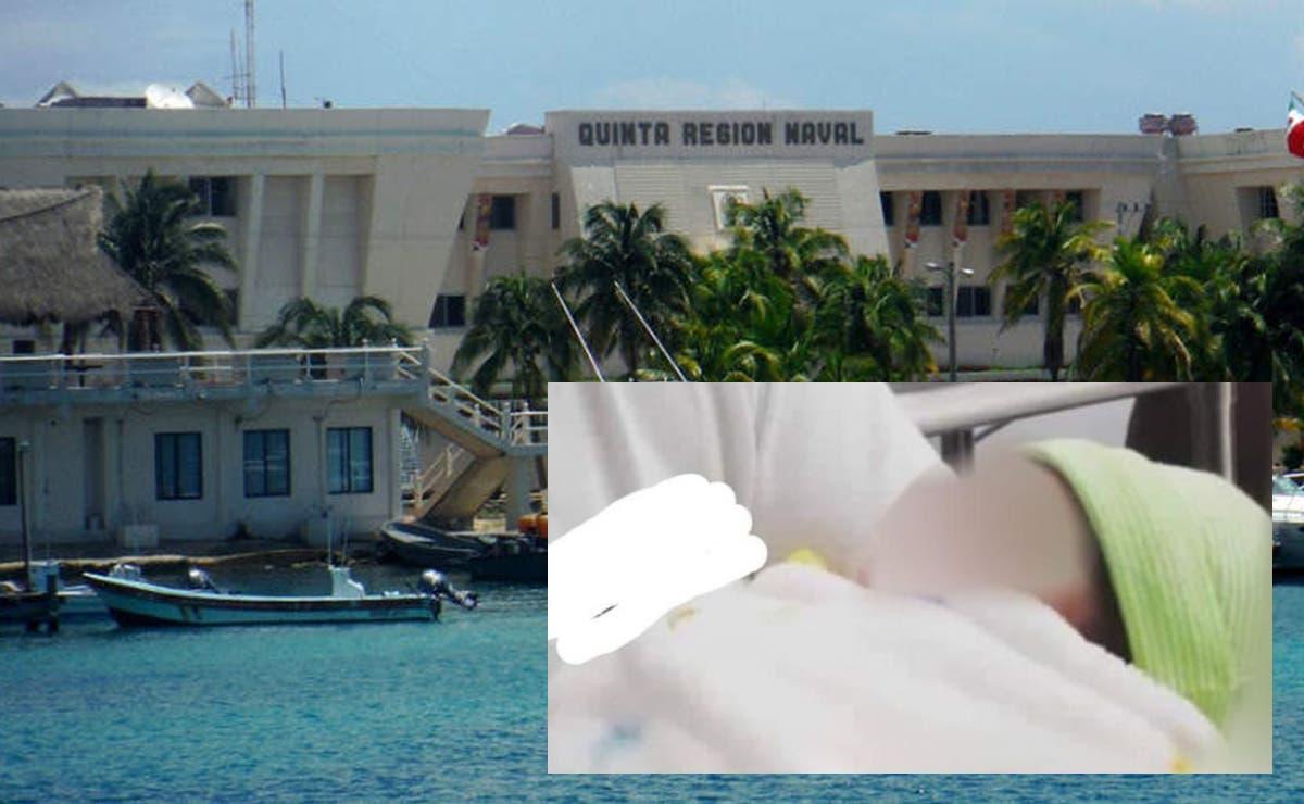 Turistas salvan a recién nacida abandonada en calles de Isla Mujeres