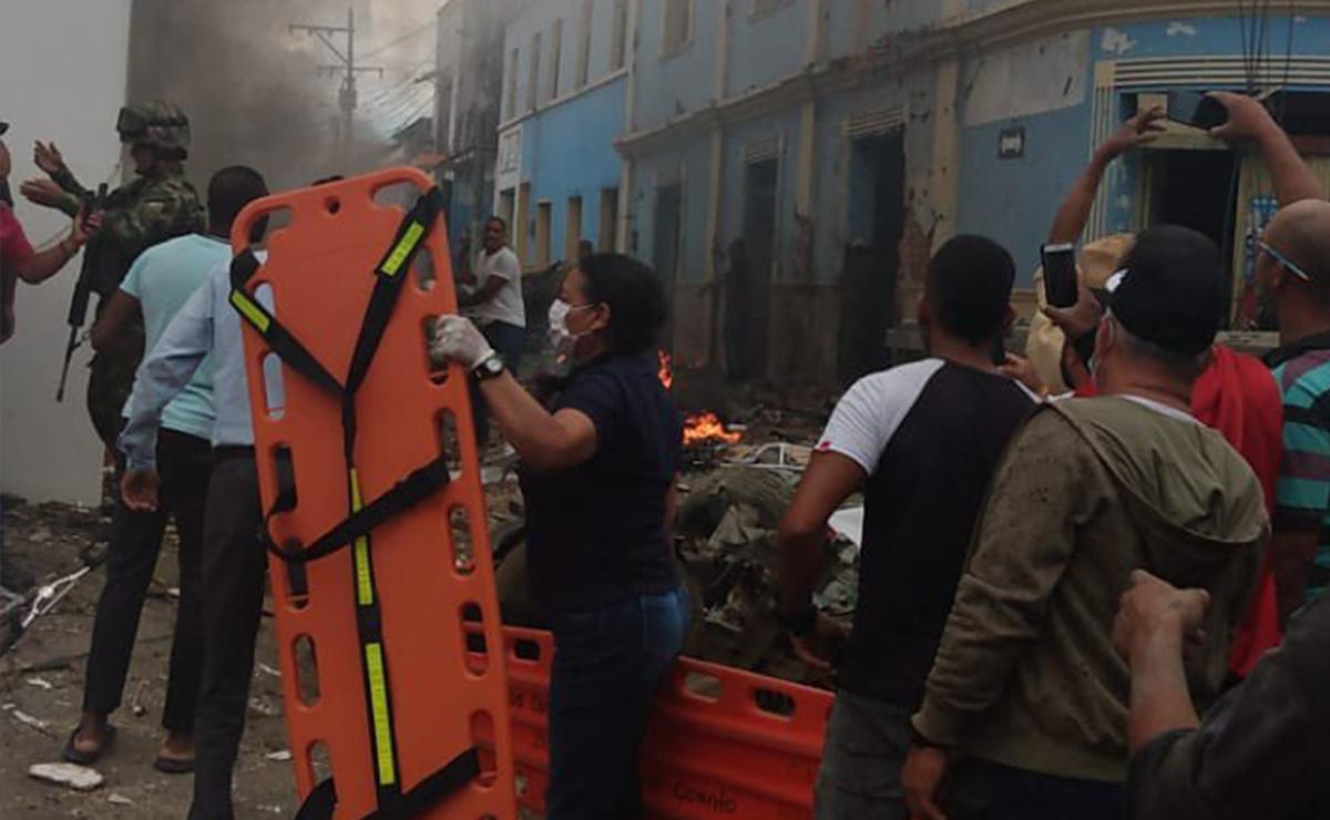Atentado con bomba en Colombia causa terror