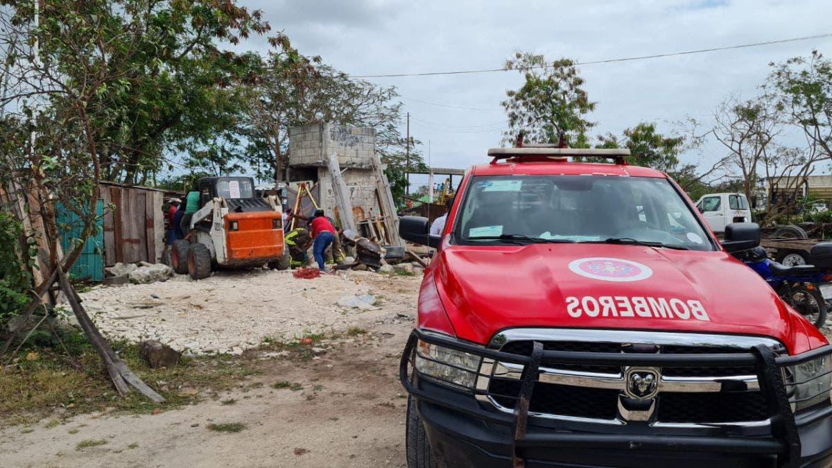 Sobrevive una persona a caída dentro de un cenote en Bonfil