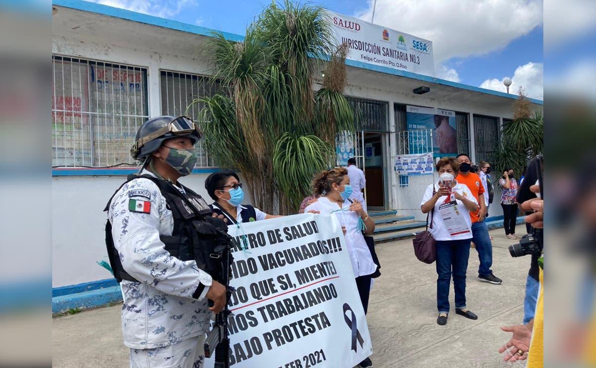 Brote de covid alarma a trabajadores de Sesa en Felipe Carrillo Puerto