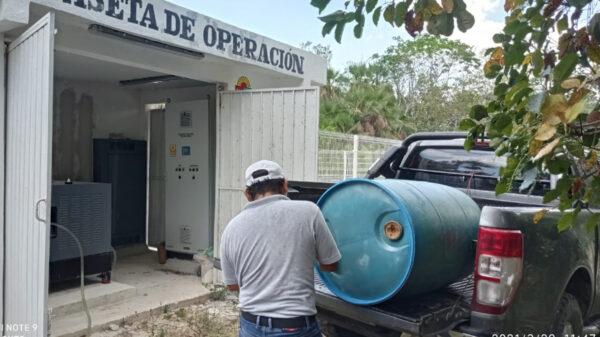 Chiquilá se queda sin energía eléctrica por siete horas